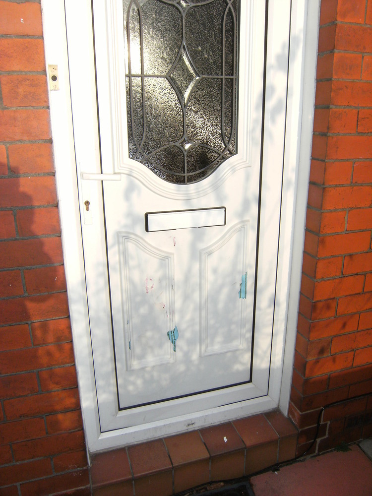 replace upvc front door panel restoration