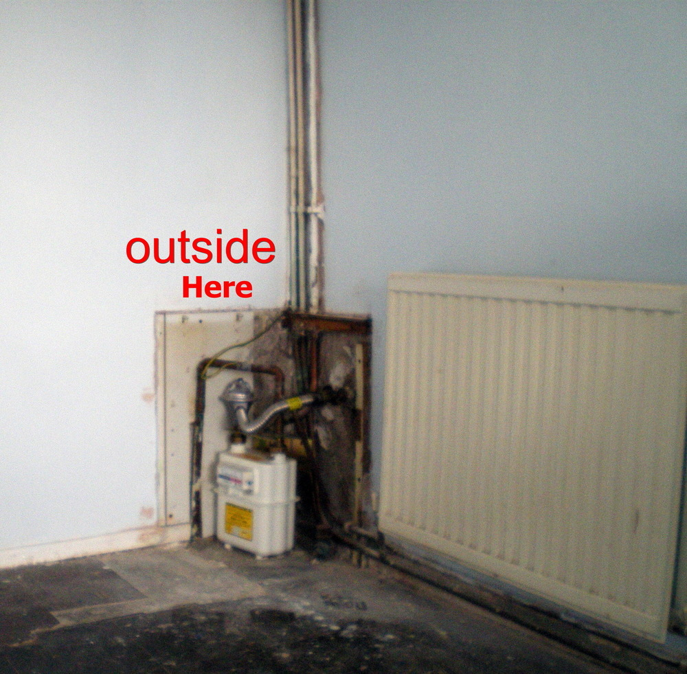 Inside A Gas Meter : Move gas meter from inside to outside rotherham s