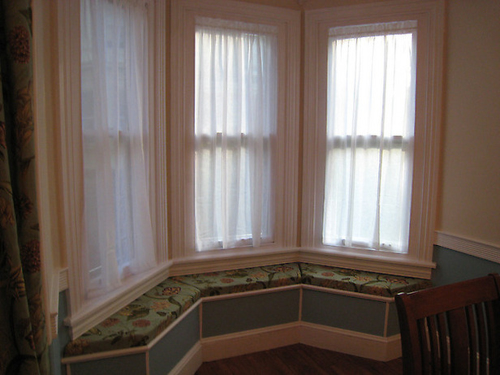 3 bay window seat carpentry joinery job in lincoln for Window seat bay window
