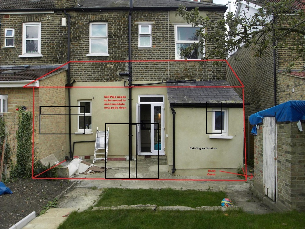 Single Storey Rear Extension  18sq meters  Extensions job in Middle Park South London  MyBuilder - Bathroom Painting Ideas