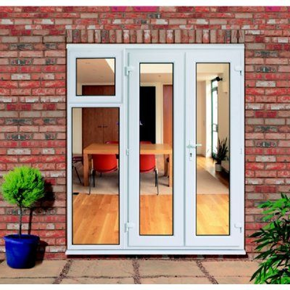 French Patio Doors with Side Windows 1000 x 1000