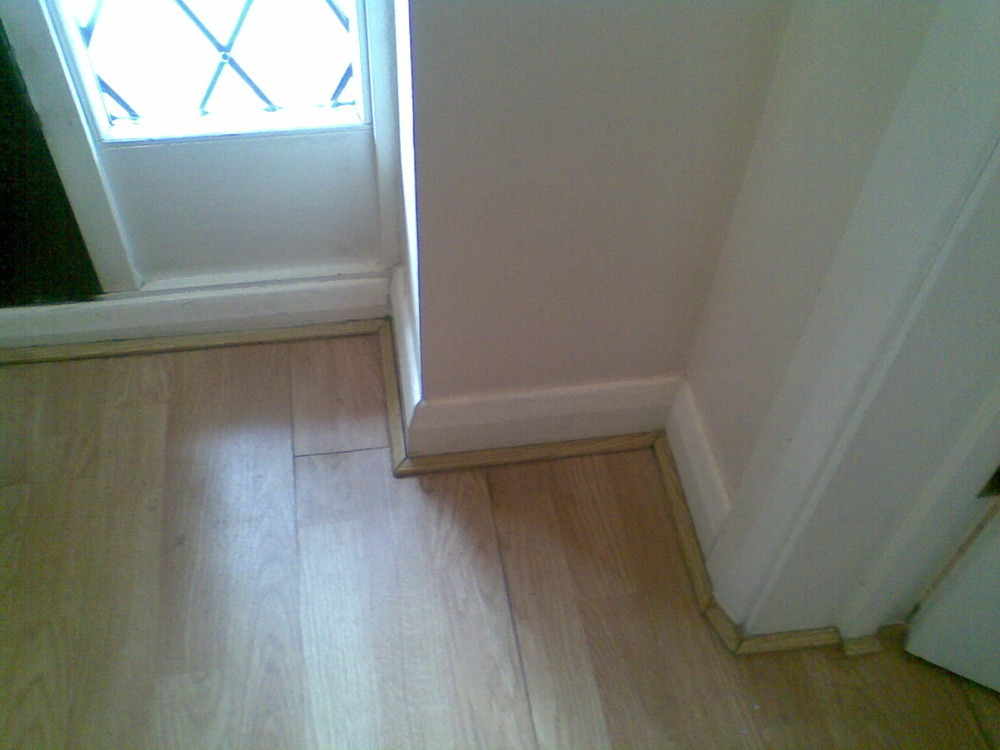 how to put new skirting board on