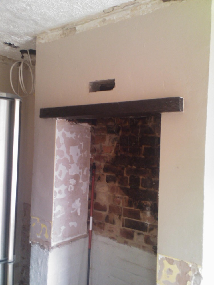Replace Wood Lintel With Concrete 1 Chimneys Fireplaces Job In Derby Derbyshire Mybuilder