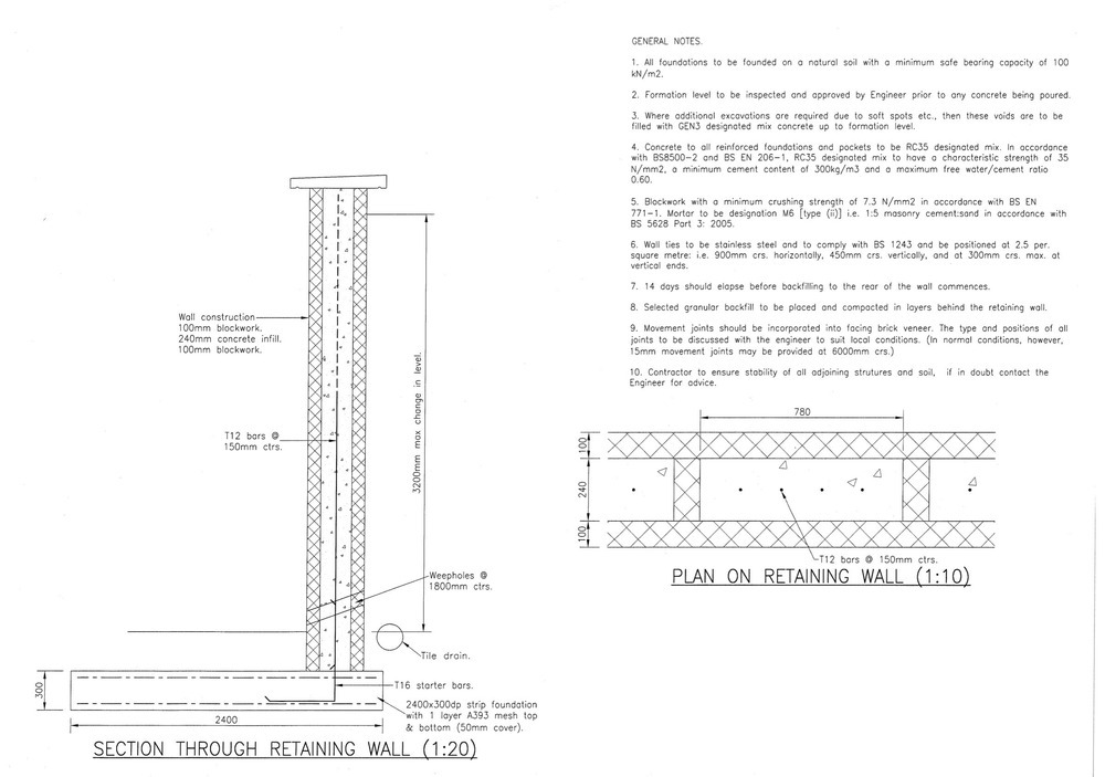 Reinforced Concrete Wall Section submited images