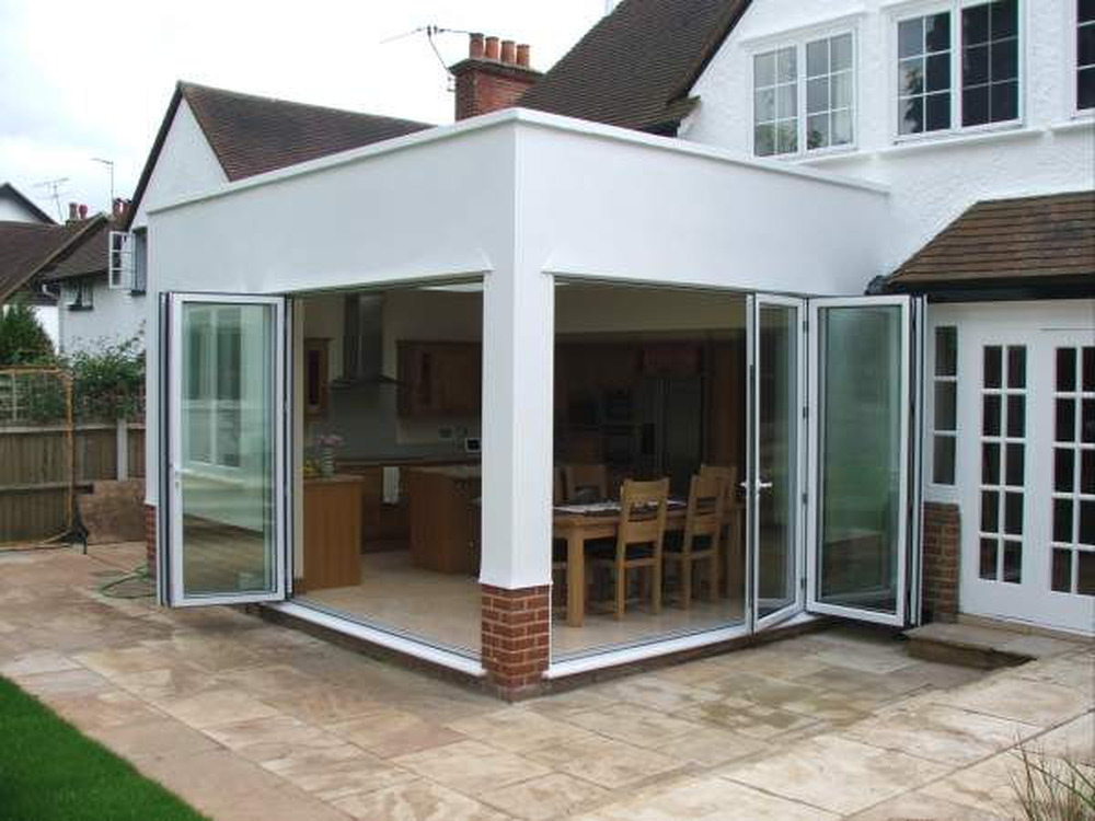 Single Story Glass Extension Extensions Job In