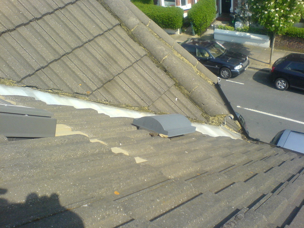 Roof Vent For Bathroom Extractor Fan Roofing Job In Chiswick West London