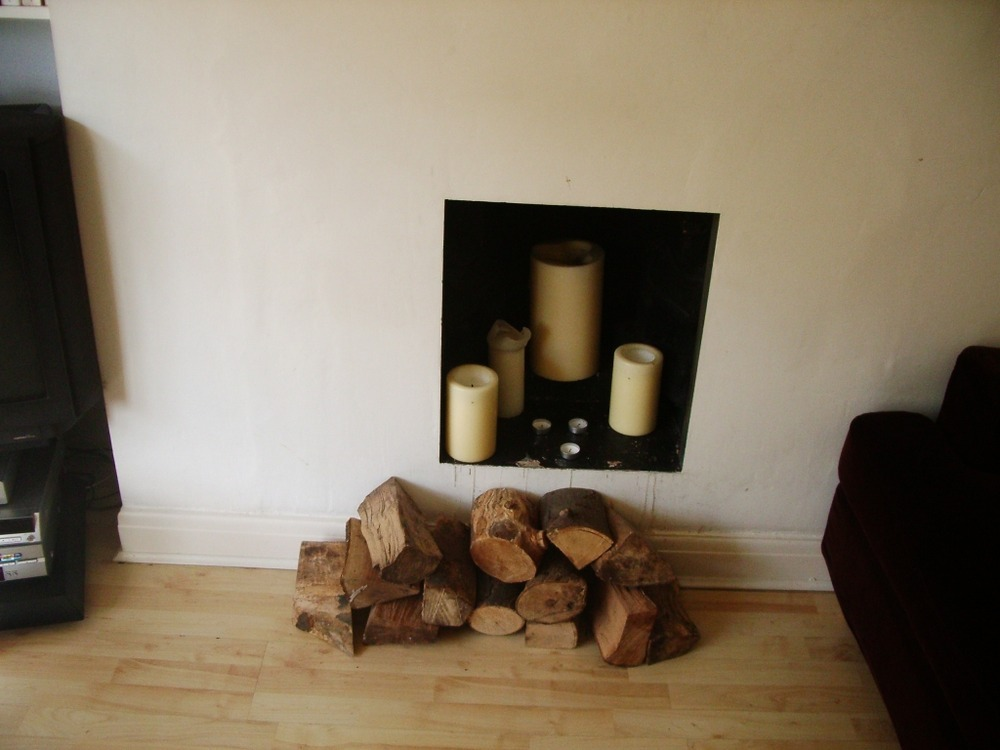 Open Up Pre Existing Small Fireplace Chimneys