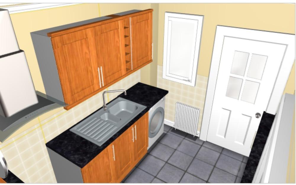 Fitting B Q Kitchen Base Units