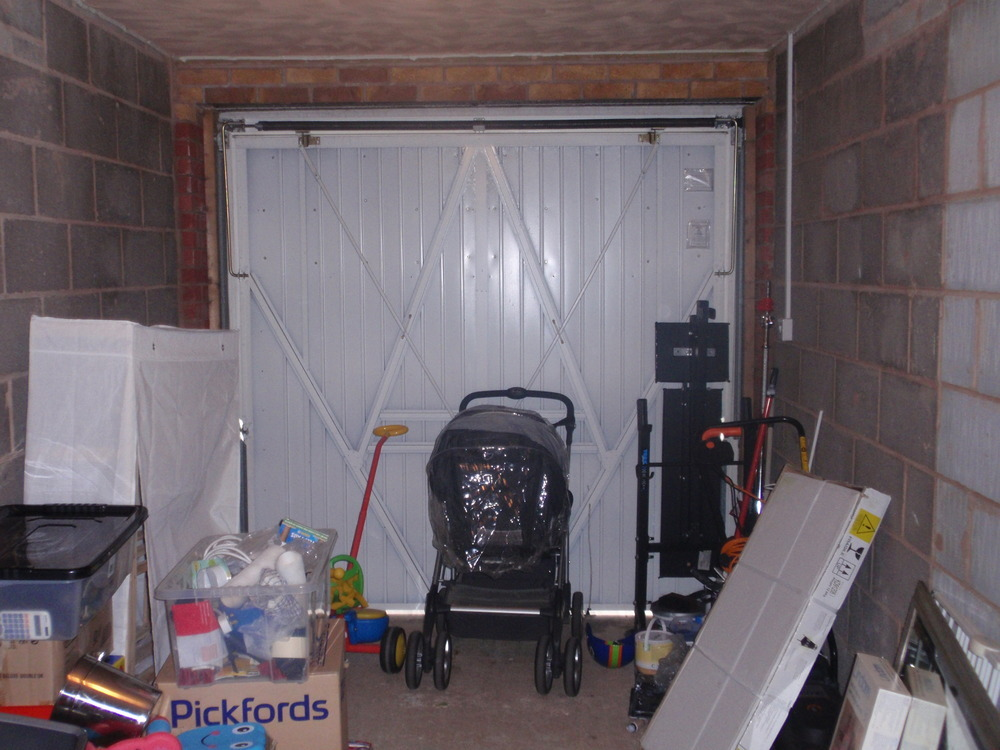 Integral garage conversion into living room conversions for Garage prime conversion