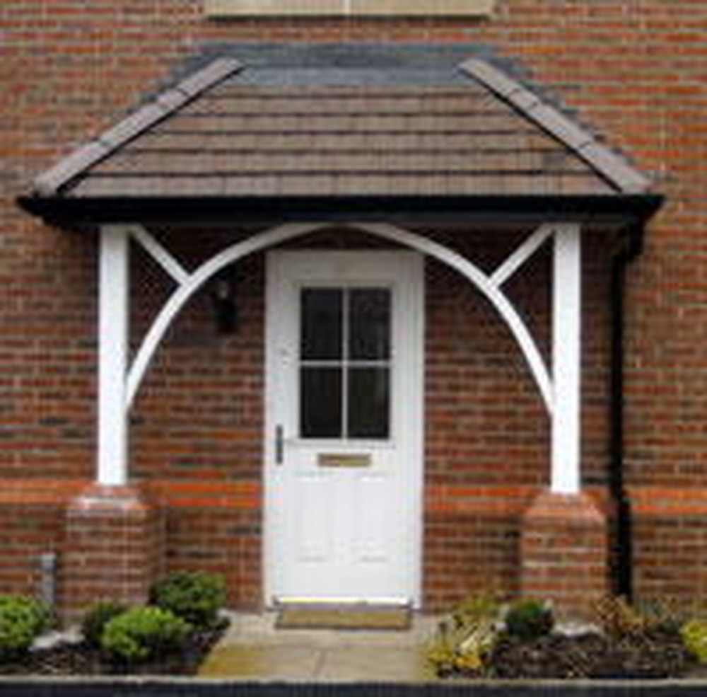 Front door canopy ideas