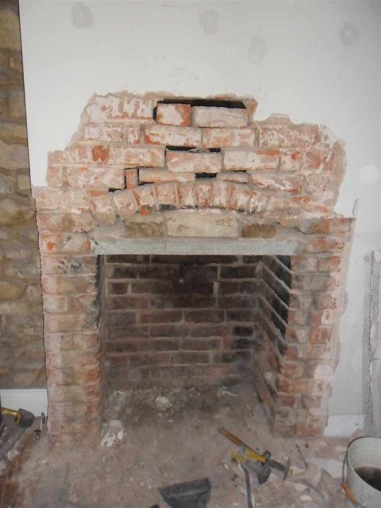 Repair Fireplace Line Chimney For Wood Burner Chimneys Fireplac