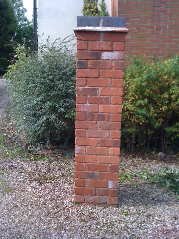 Move Brick Pillar Bricklaying Job In Solihull West