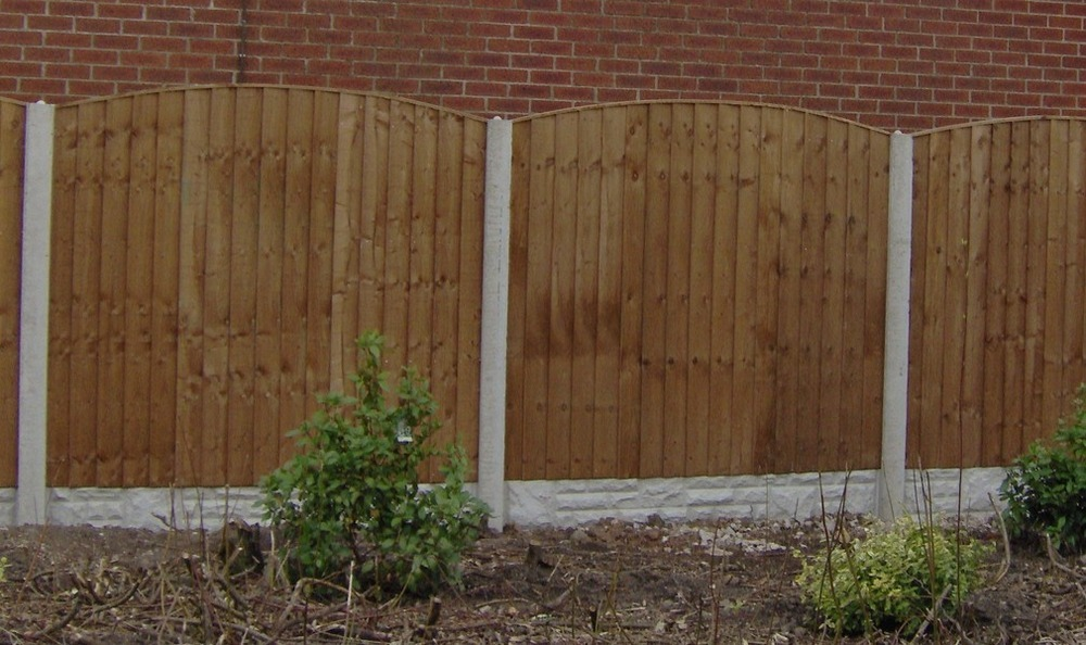 Fencing Concrete Posts Gravel Boards Closed Boards