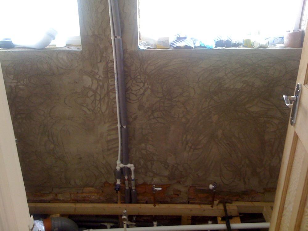 skim bathroom ceiling and wall plastering job in bromley. Black Bedroom Furniture Sets. Home Design Ideas