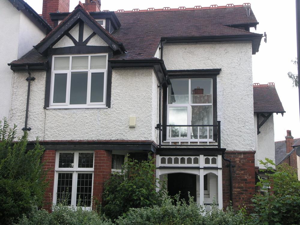 Rendering Edwardian House Restoration Refurbishment