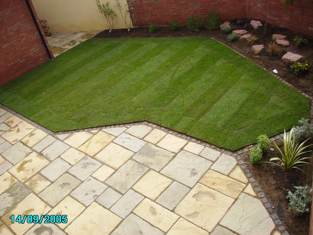 New garden design and build landscape gardener for New landscape design