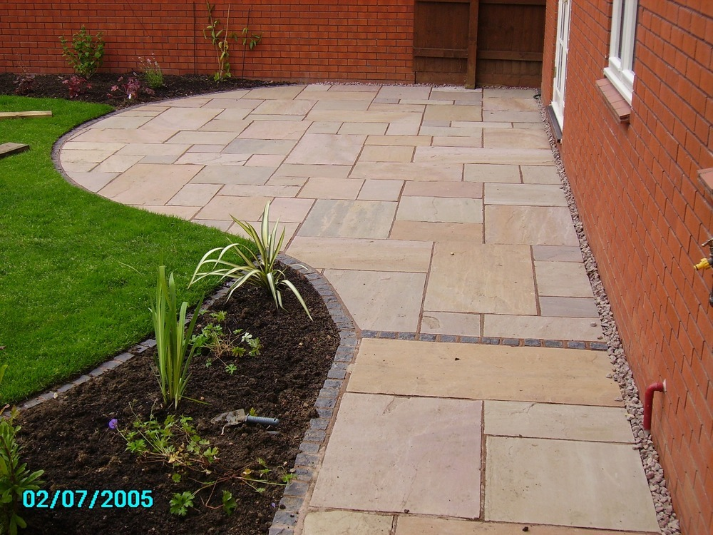 New Garden Design And Build Landscape Gardener