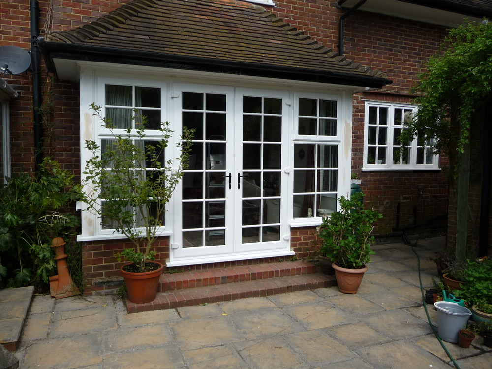 Bennbrook windows 97 feedback window fitter for French doors with side windows