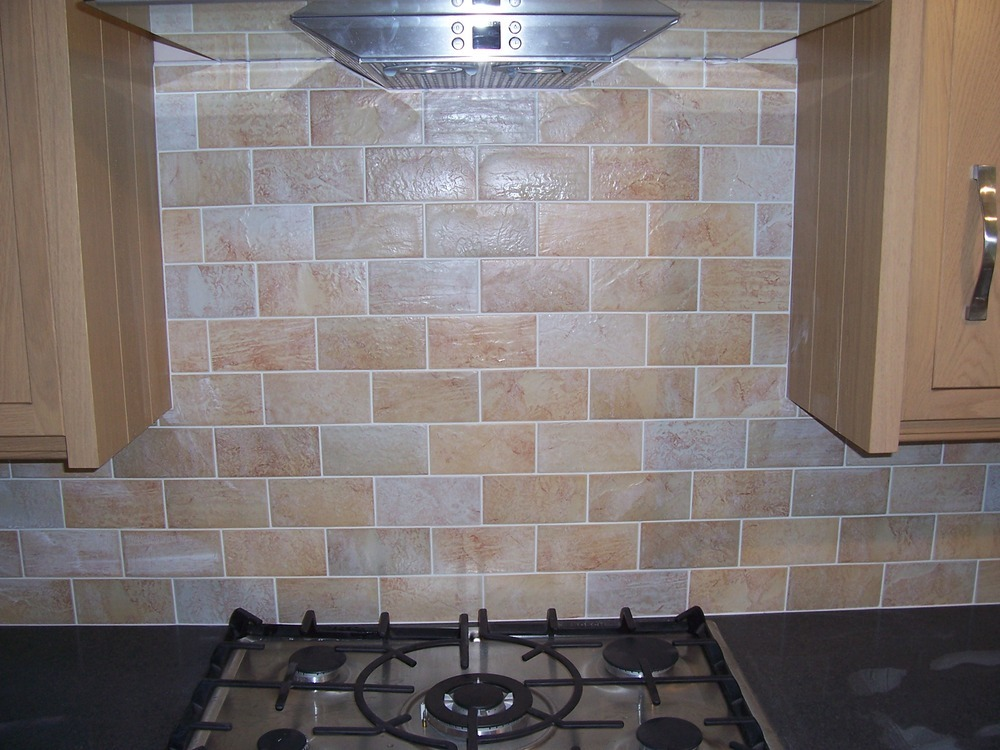 Kitchen Tiles Brick Style modren kitchen tiles brick effect clad with tile splashback range