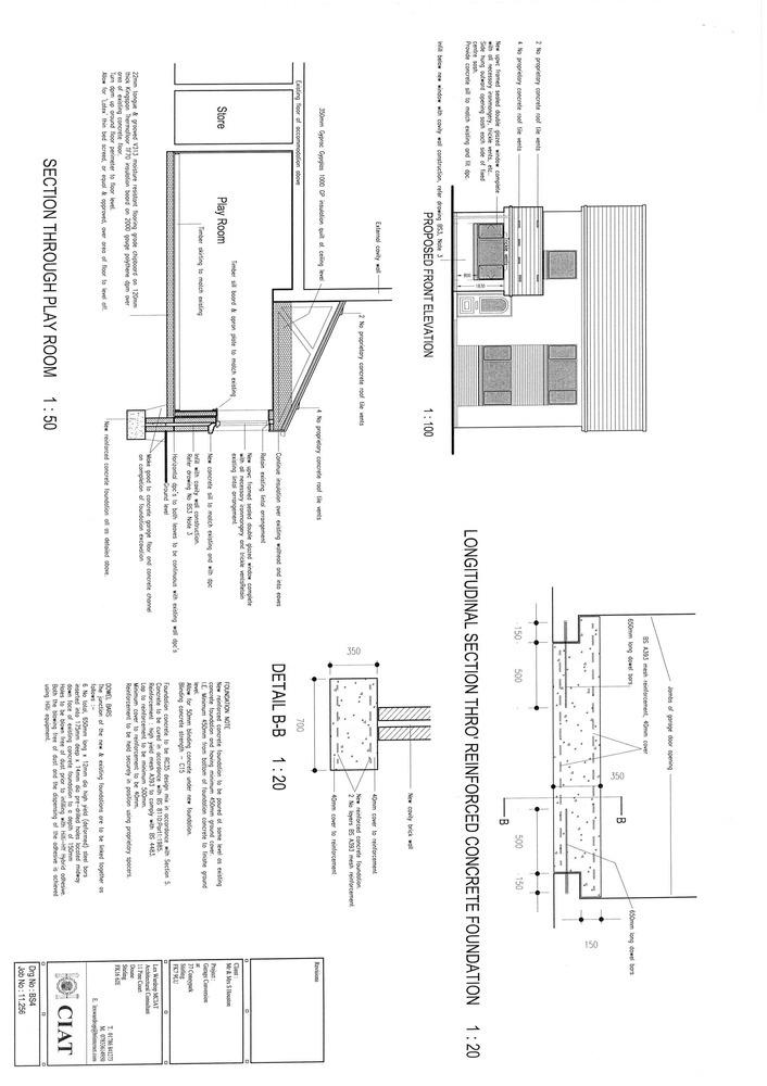 internal garage conversion to a playroom - conversions