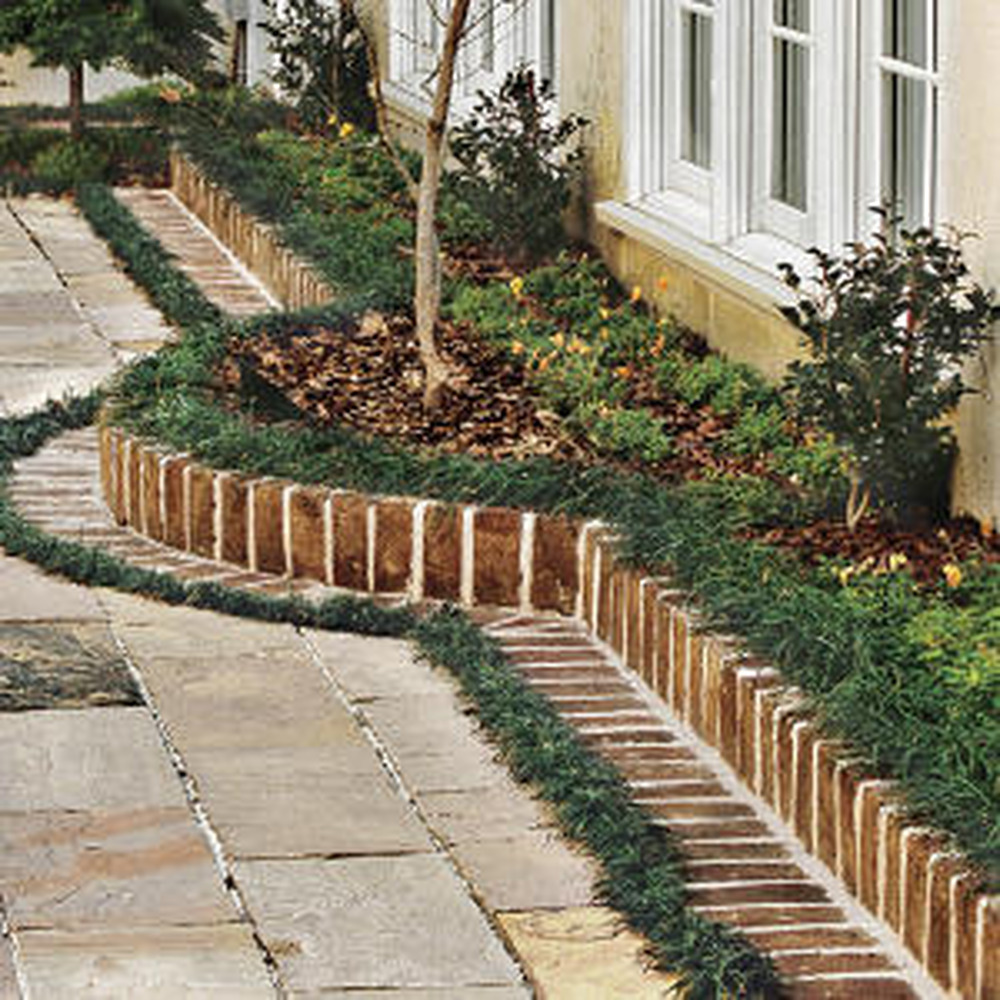 brick edging brick bbq landscape gardening job in northampton