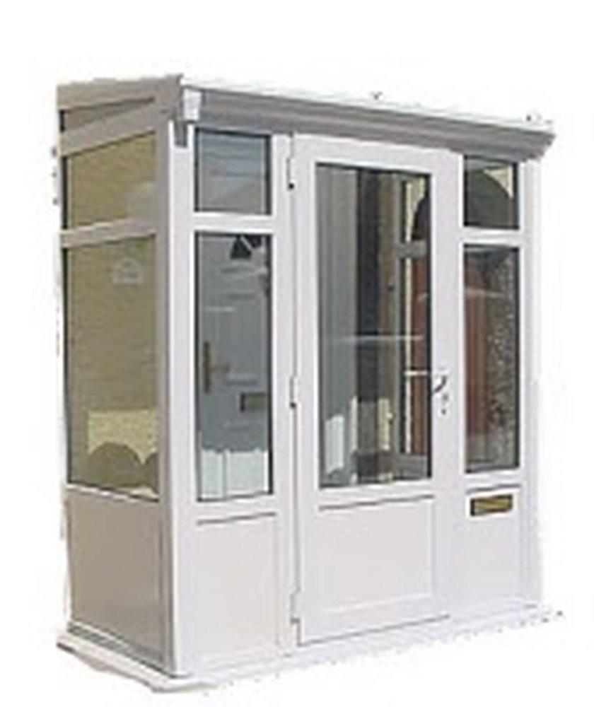 Assemble a pvc glass door porch conservatories job in for Pvc porch door