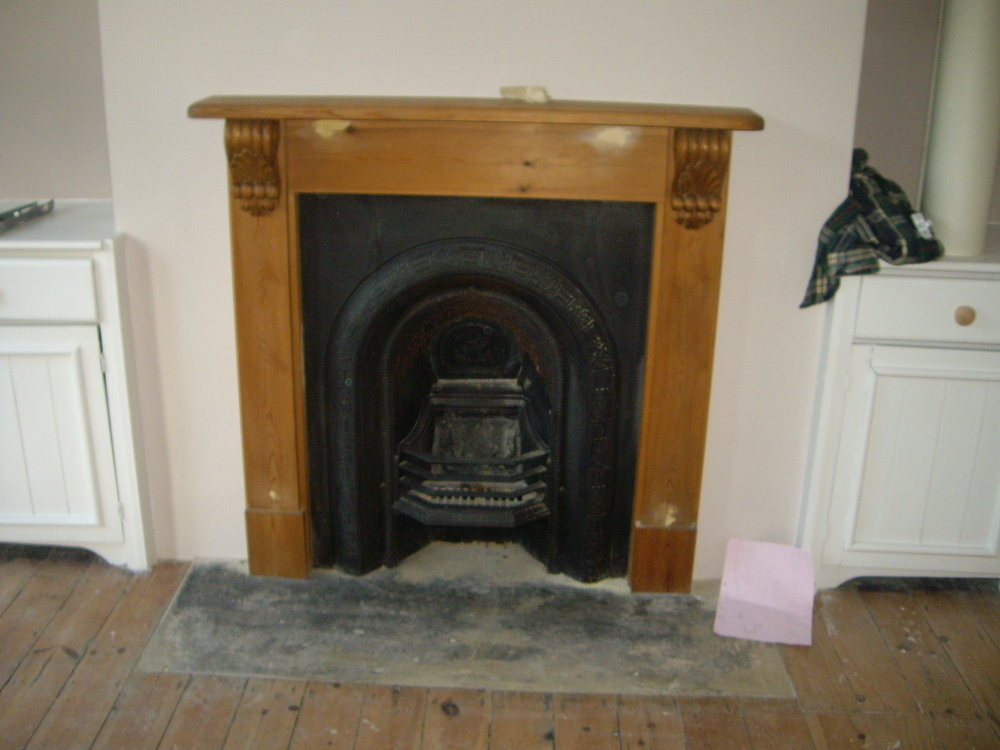 Tiling A Fireplace Hearth Tiling Job In Wanstead East London Mybuilder