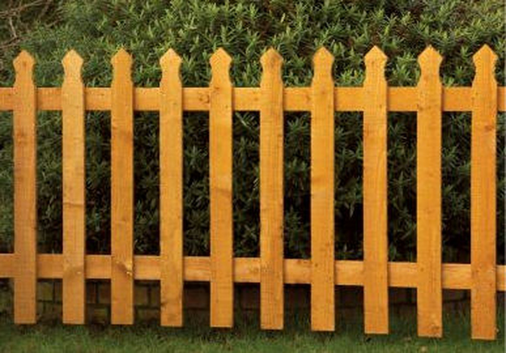 Front Garden Fence Fencing Job In Blackpool Lancashire