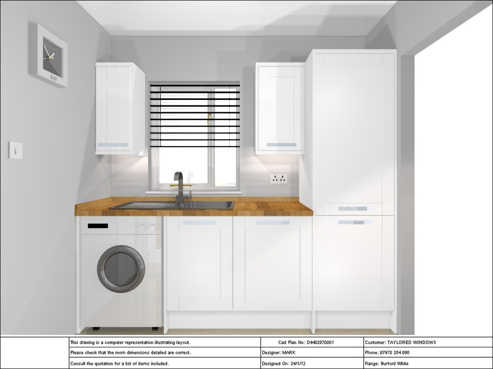Win a new bathroom - Fit Small Howdens Kitchen Kitchen Fitting Job In Canary