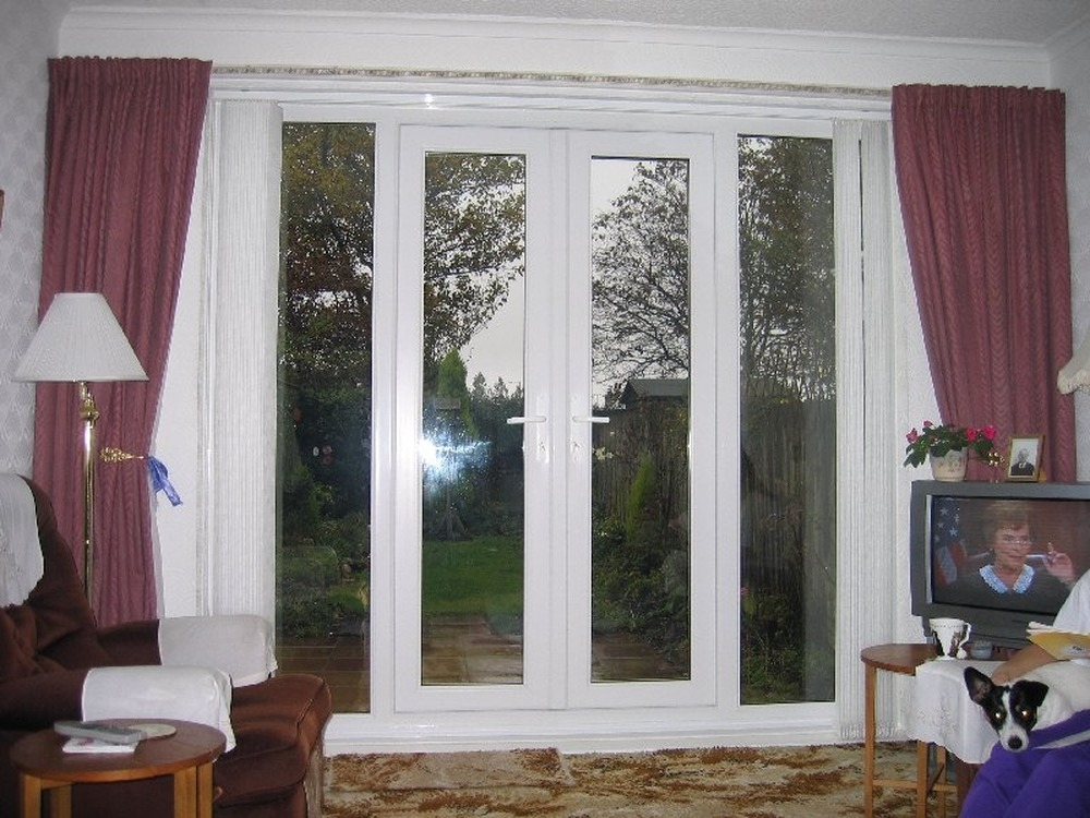 Ljb home improvements 100 feedback kitchen fitter for Upvc french doors glasgow