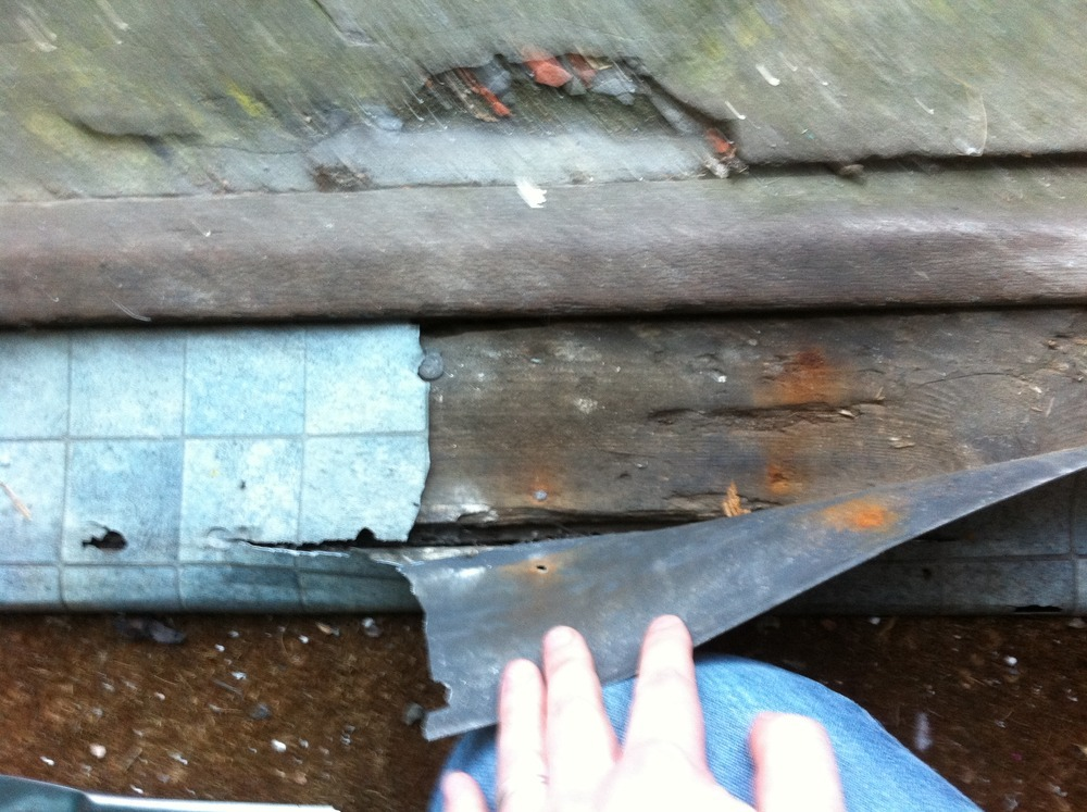 Replace Rotten Exterior Door Threshold Carpentry