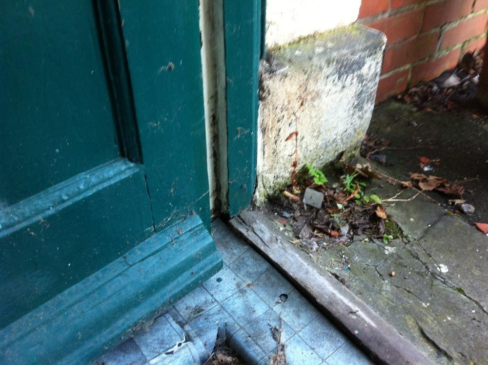 Replace Rotten Exterior Door Threshold Carpentry Joinery Job In Newca
