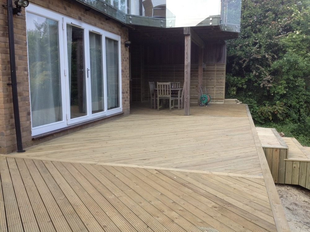 Decking stain remove decking stain concrete for Staining trex decking