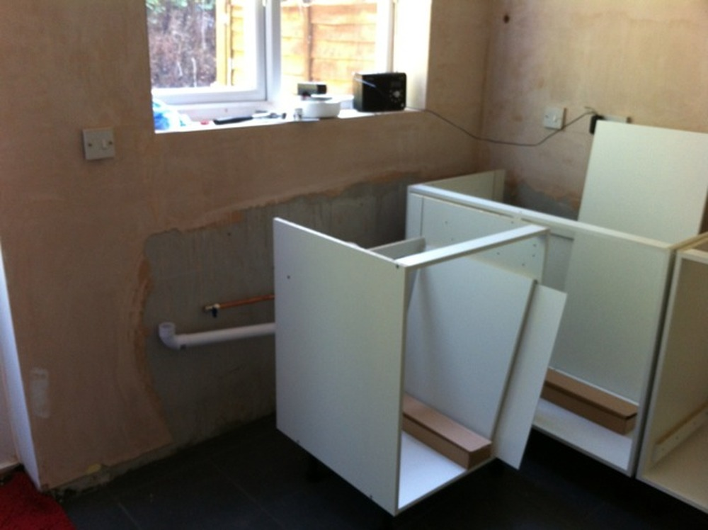 Fit A Small Kitchen Kitchen Fitting Job In Crawley West