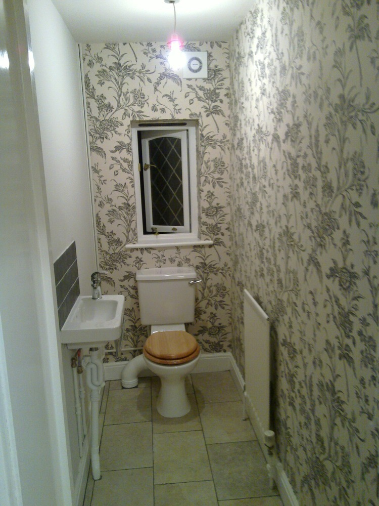 Paul 39 s handyman services 100 feedback handyman bathroom fitter kitchen fitter in southampton - Cloakroom design ideas home ...