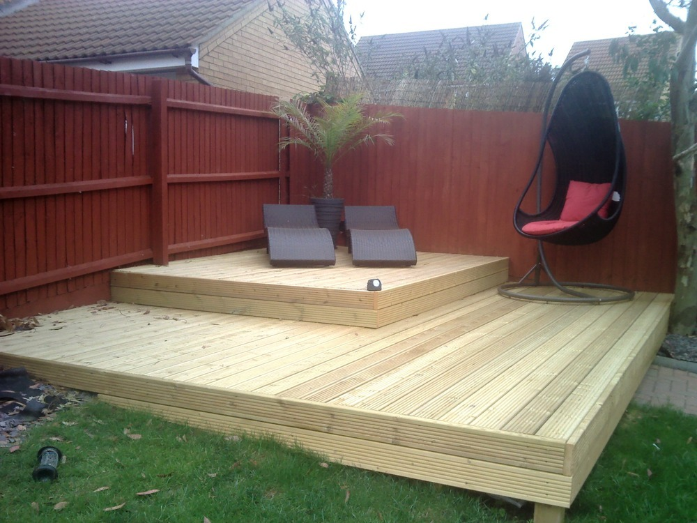 Lift A Few Deck Boards Fit Decking Lights Handyman