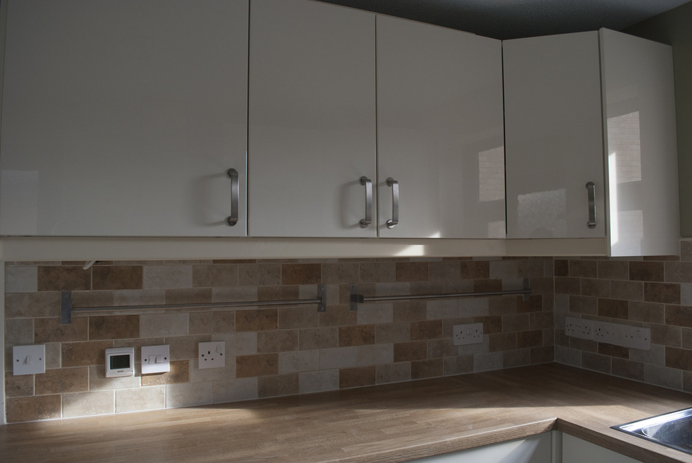 C h kitchen bathrooms 78 feedback bathroom fitter for Kitchen units on one wall