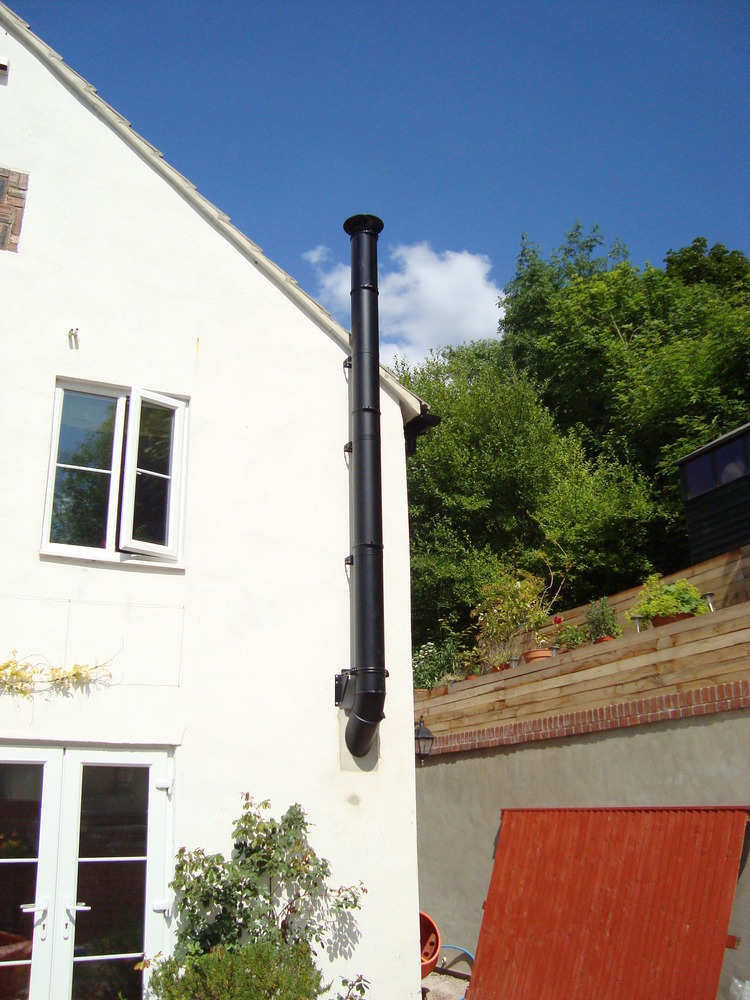 Andy Yates Fitting Services 100 Feedback Chimney
