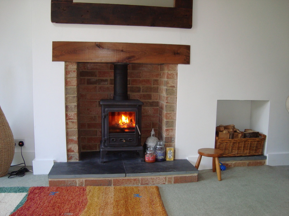 Fireplace On Pinterest Brick Fireplaces Wood Burning Stoves And Stove