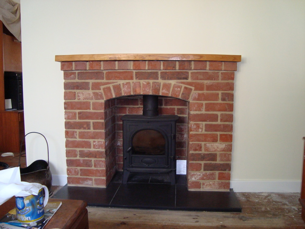 Andy yates fitting services 100 feedback chimney fireplace specialist stonemason in wantage - Brick fireplace surrounds ideas ...
