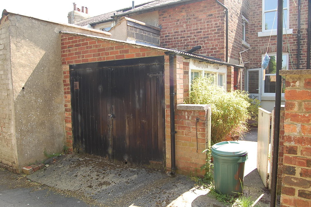 Replace old lean to garage conversions general job in for Garage with lean to