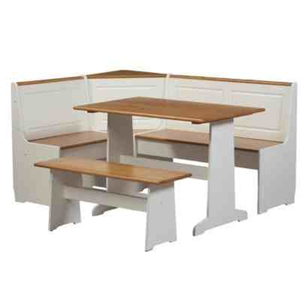 L shaped kitchen bench table home christmas decoration for Corner dining table