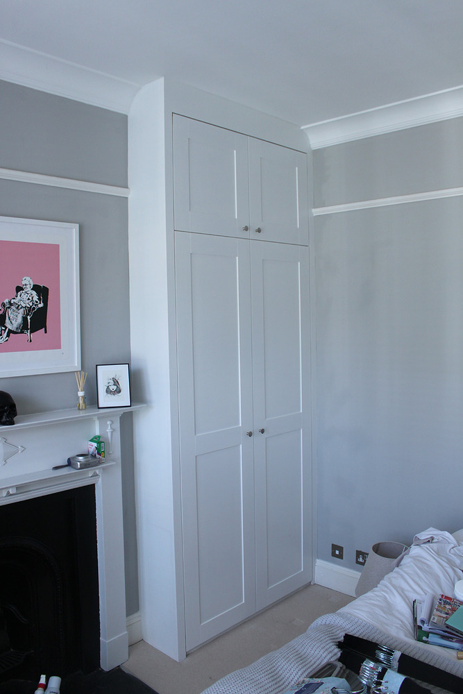 Bespoke fitted wardrobes and cupboard - Carpentry