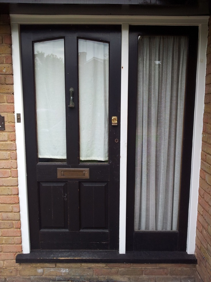 Replace Front Door Frame And Sidelight Carpentry Joinery Job In Chis