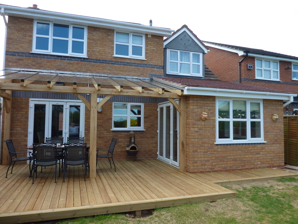 Veranda Decking Designs  YouTube
