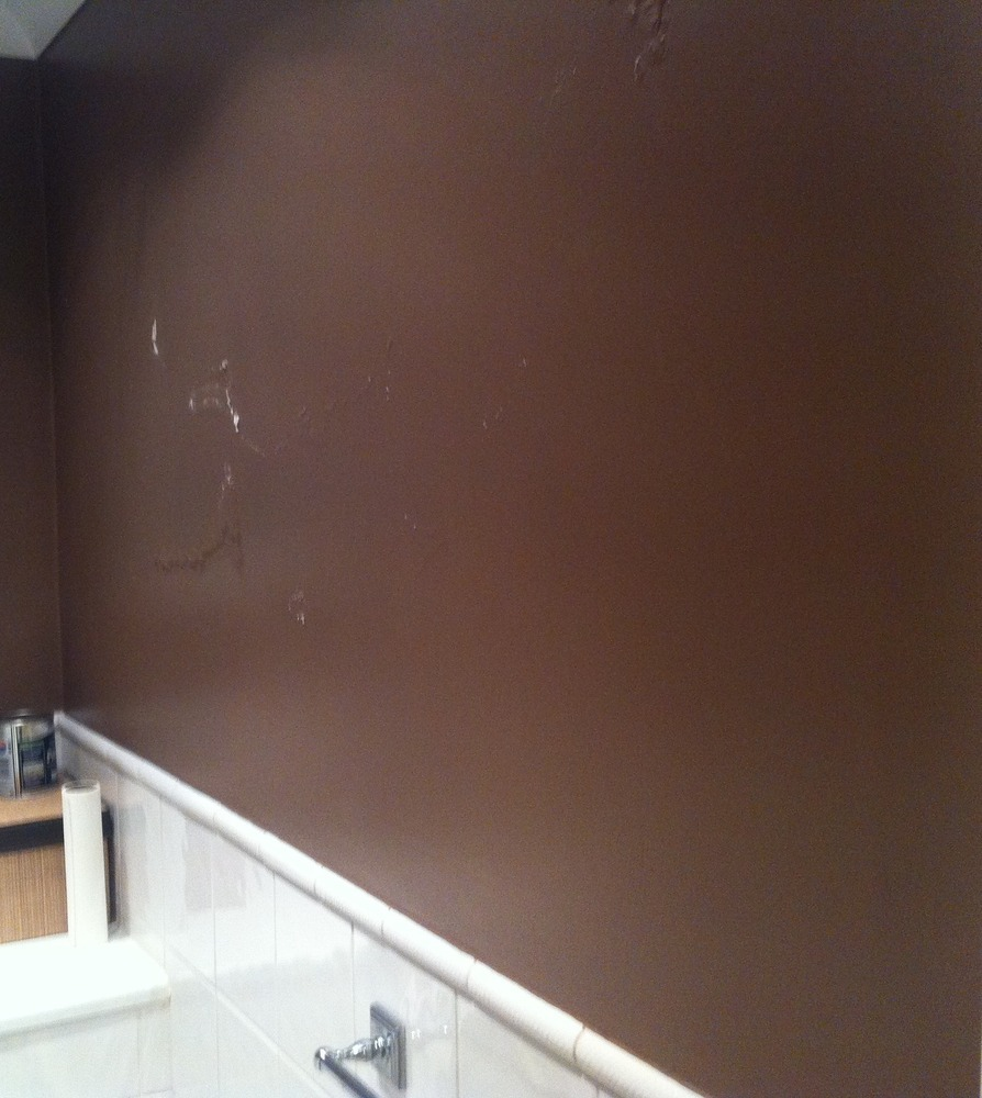 Inside Wall Damp Bubbling Paint Damp Proofing Job In Bromley Kent Mybuilder