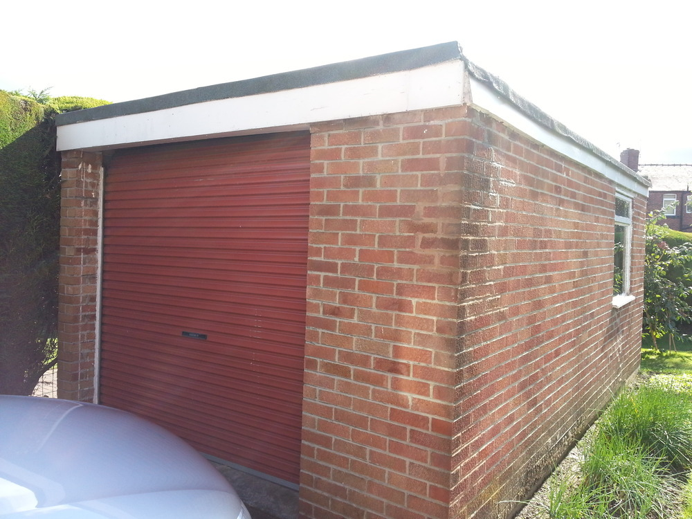 Garage Flat Roof Needs Repair Or Replacing Roofing Job