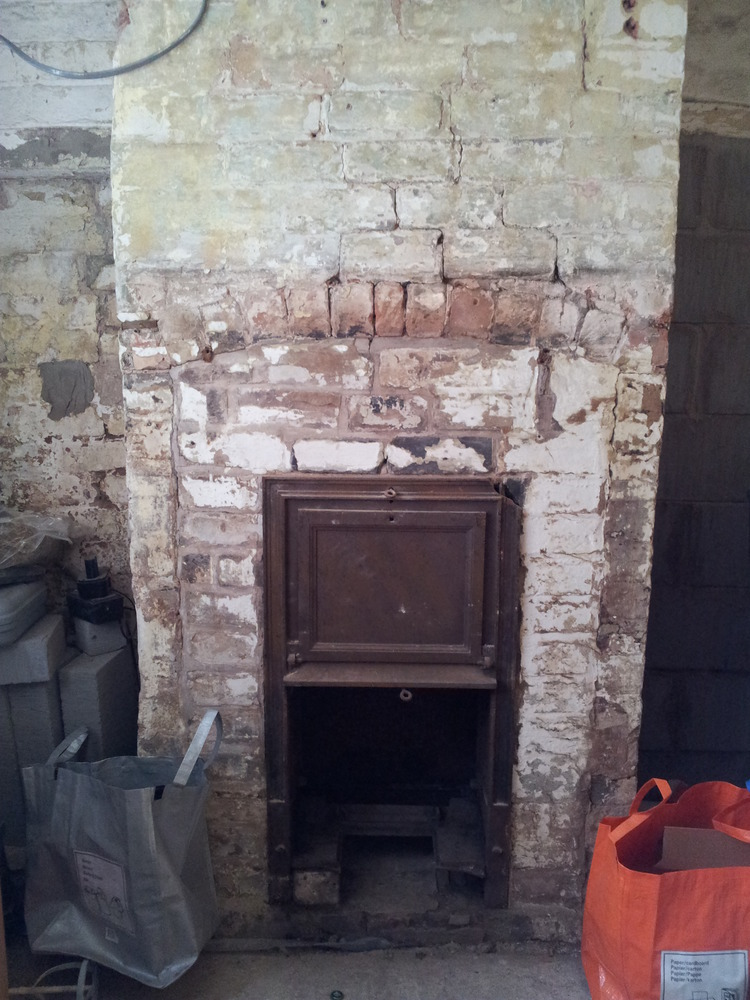 Lintel Installation Fireplace Extending Bricklaying Job In Stourbridge West Midlands