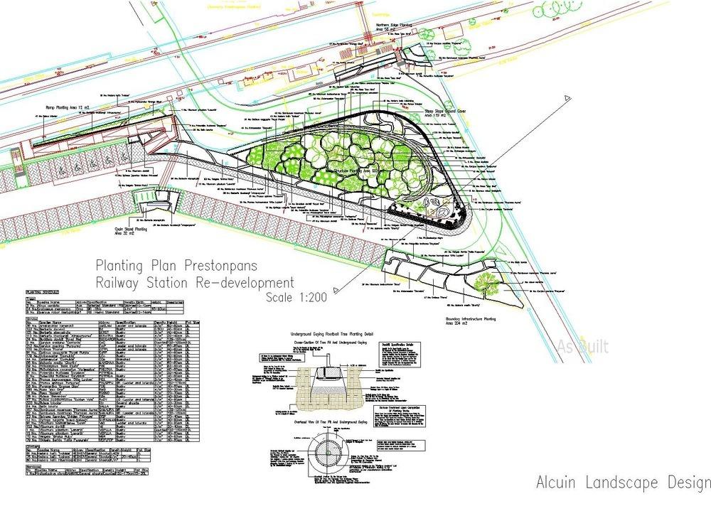Alcuin landscape design 100 feedback landscape gardener for Landscape planting plan