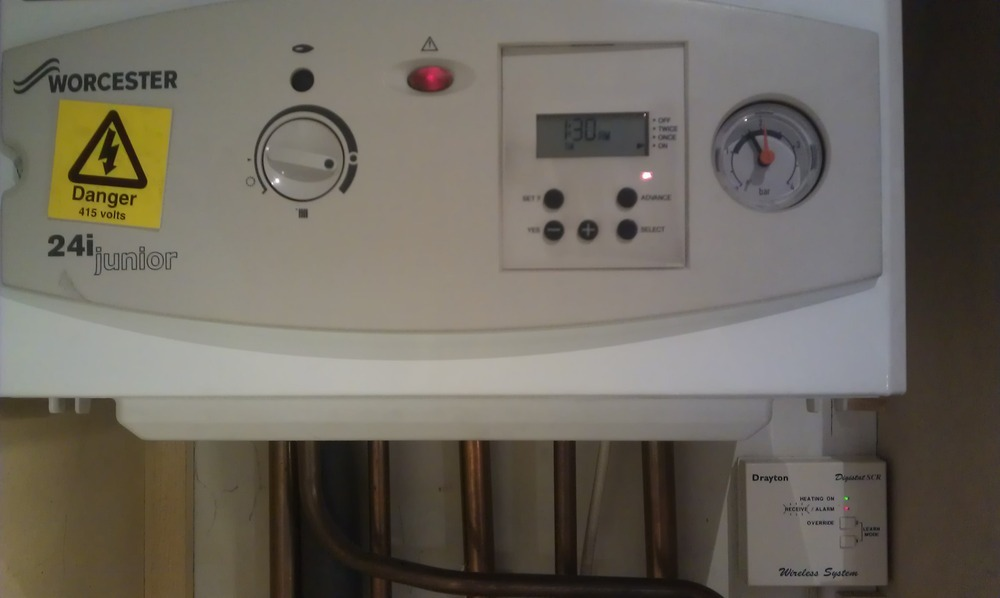 Win a new bathroom - Central Heating Amp Hot Water Temperamental Boiler Job